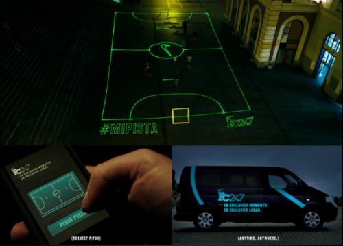 Nike Laser Football Pitch