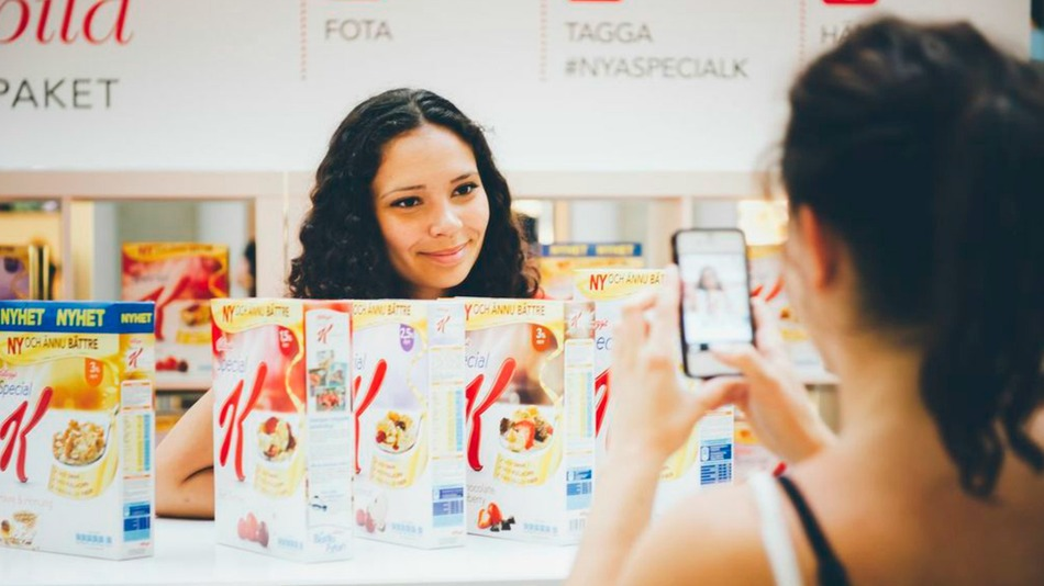 Special K Store Lets You Pay With Instagram Photos