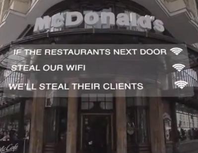 McDonald's uses free wifi to hijack customers