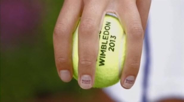 Sony ad Wimbledon