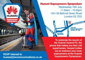 Huawei Superpowers Symposium