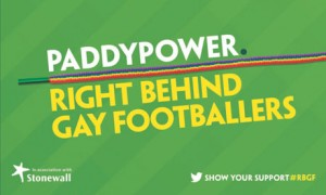 Paddy Power's Right Behind Gay Footballers ad