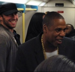 Jay Z surprises fans by catching the Tube to his concert