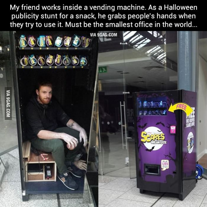 Haunted vending machine provides trick AND treat in fun Kellogg's PR stunt