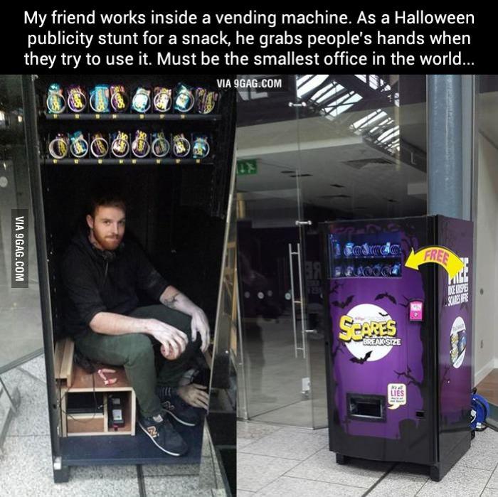 rice crispy squares vending machine