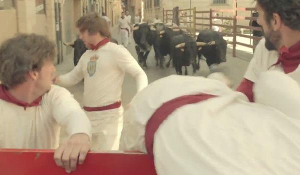 volvo trucks bulls chase