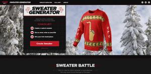 Coke Sweater Campaign