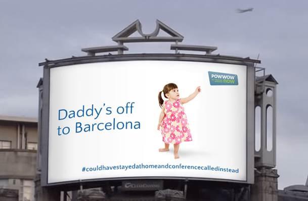 Powwownow to piggyback on 'magic' British Airways interactive billboard