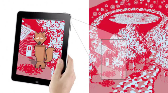 Augmented Reality Fairy Tales That Leap From Your Kid's Sheets