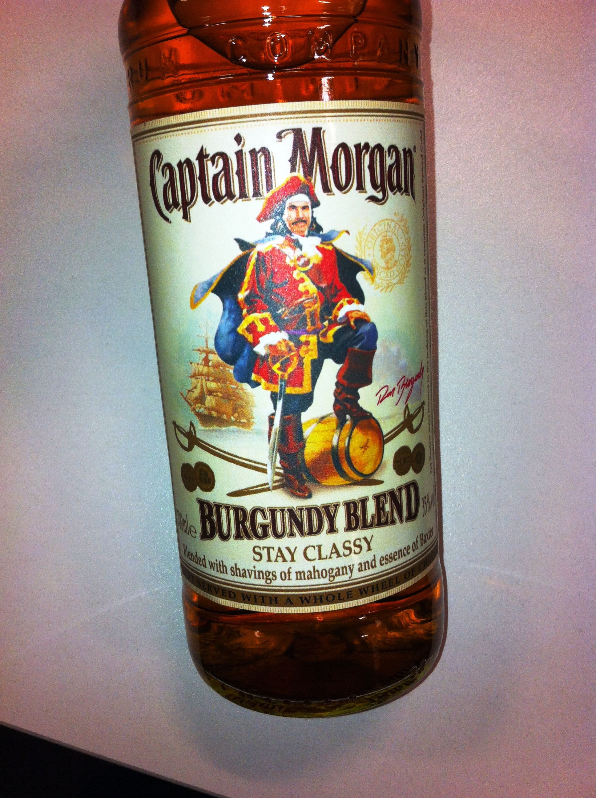 Captain Morgan's Ron Burgundy Blend