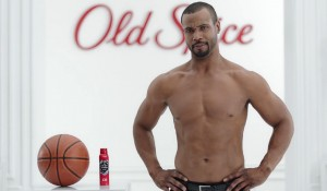 Isaiah Mustafa, former NFL star and Adam Driver body-double, now face of Old Spice