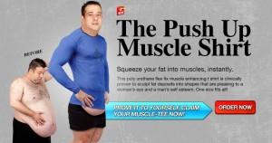 Push Up Muscle Shirt
