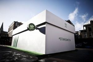 Giant Shoebox Doubles as Adidas Pop-Up Shop   Famous Campaigns