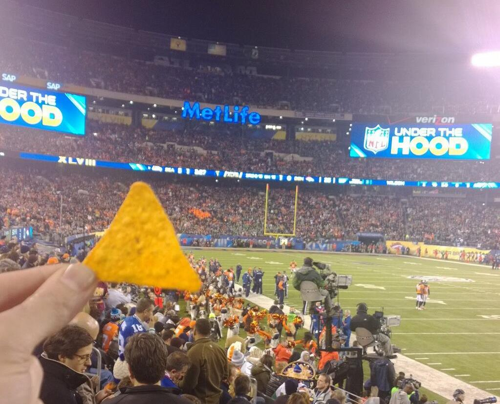 Doritos Photobomb Super Bowl XLVIII