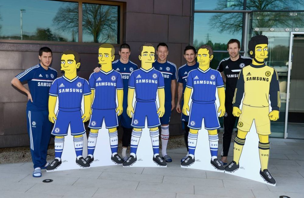 Chelsea FC and The Simpsons Team Up For Unlikely Partnership