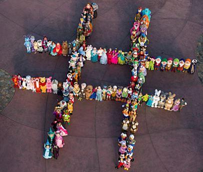 Disney - 140 Characters Hashtag