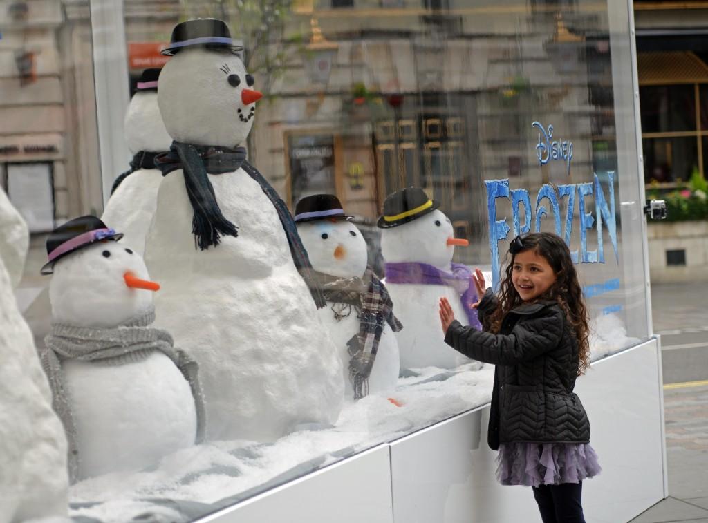 disney frozen snowman adopt