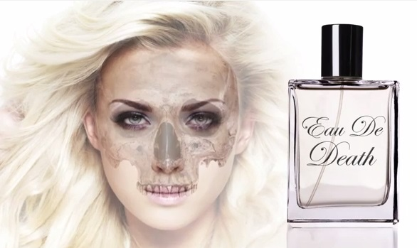 eau de death walking dead pr stunt