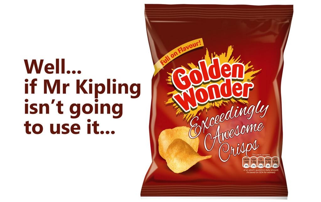 golden wonder exceedingly awesome