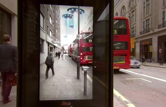pepsi max bus stop stunt