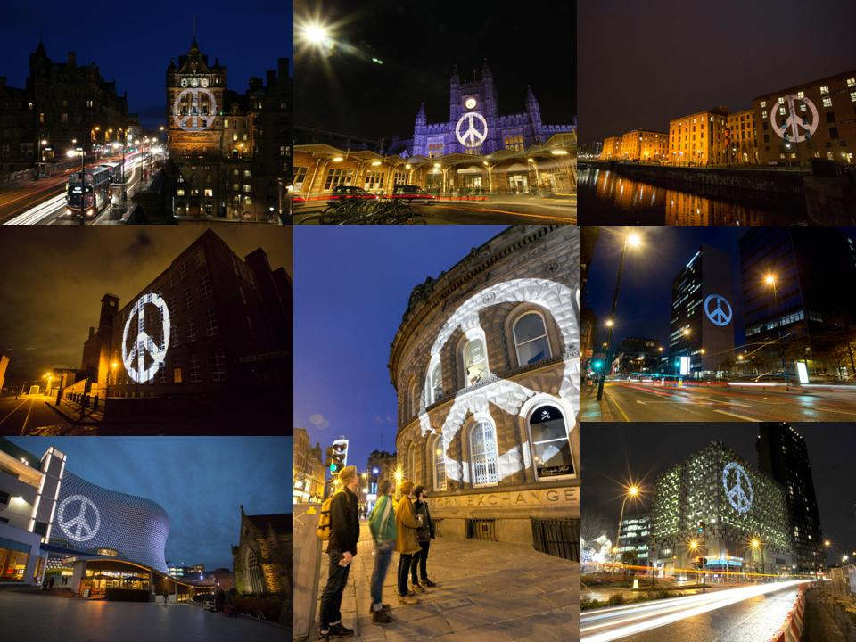 A selection of images from the Lynx Peace Launch