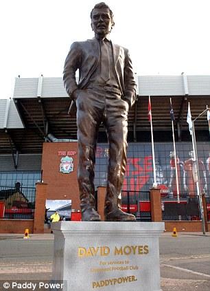 david moyes statue