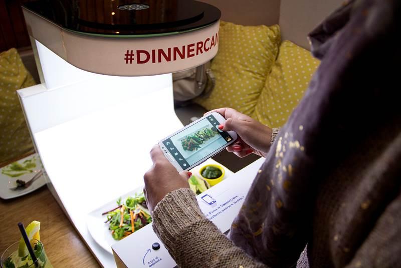 #dinnercam: money-shots for food pornographers