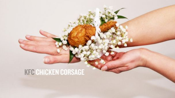 kfc chicken corsage prom