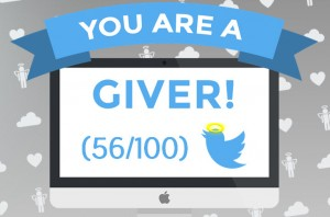 Are you a social media giver or a taker?