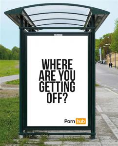 PornHub creative campaign