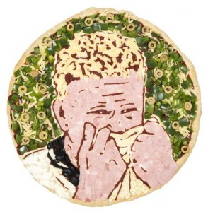 Gazza crying after World Cup 1990 England Pizza Express PR Stunt