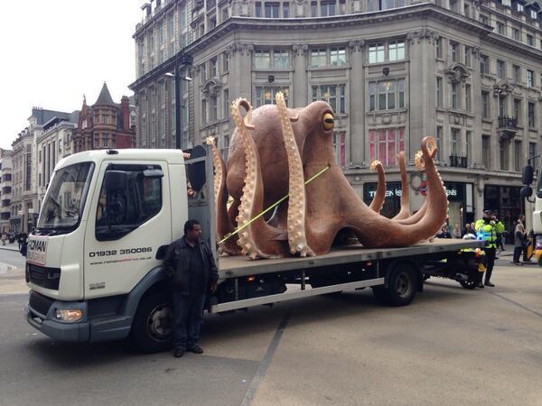 Octopus Oxford Street