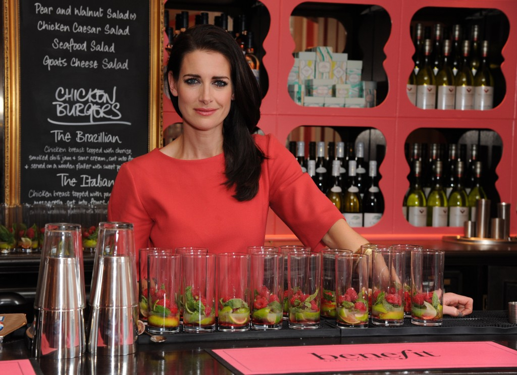 Kirsty Gallacher launches pop-pub for women Photo by Dave Benett