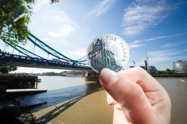 Royal Mint Launches New £5 Coin With Quirky Photoshoot