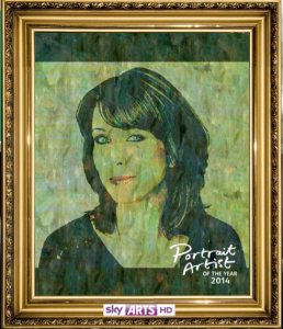 Sky Arts Selfie Portrait