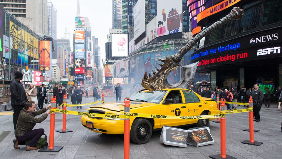 World of Warcraft taxi