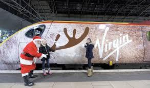 .@Virgintrains kick off the festive season with #traindeer