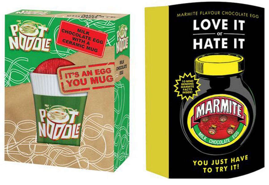 Pot Noodle Marmite Easter egg