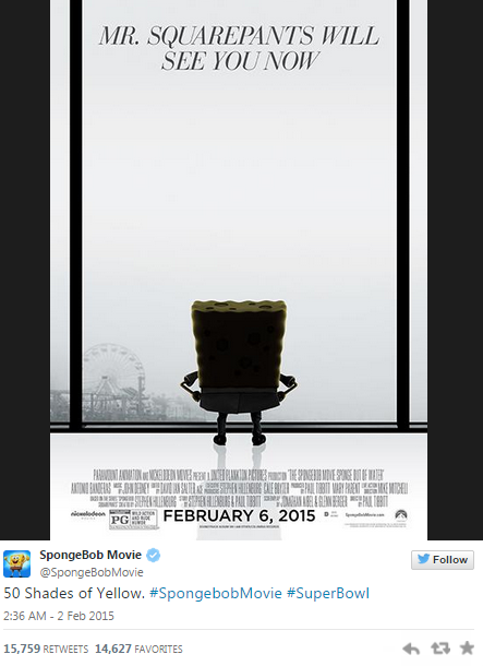 the best shades of grey pr examples pr examples sponge bob 50 shades of yellow