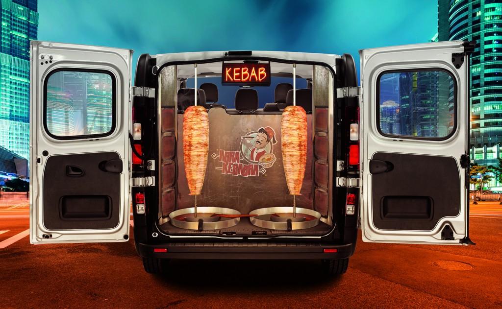 Kebab cab