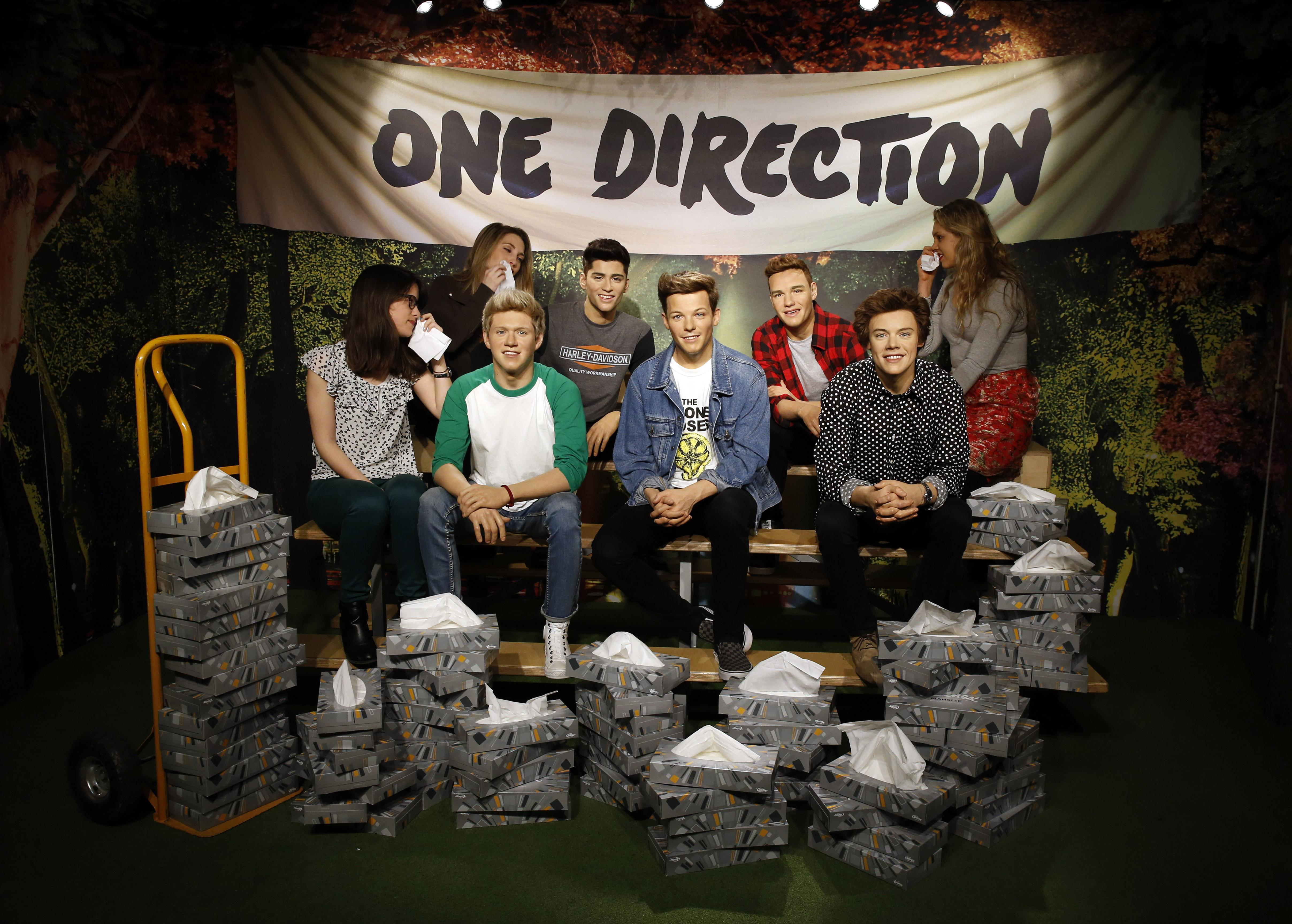 Kleenex and Madame Tussaud's mop up as Zayn departs