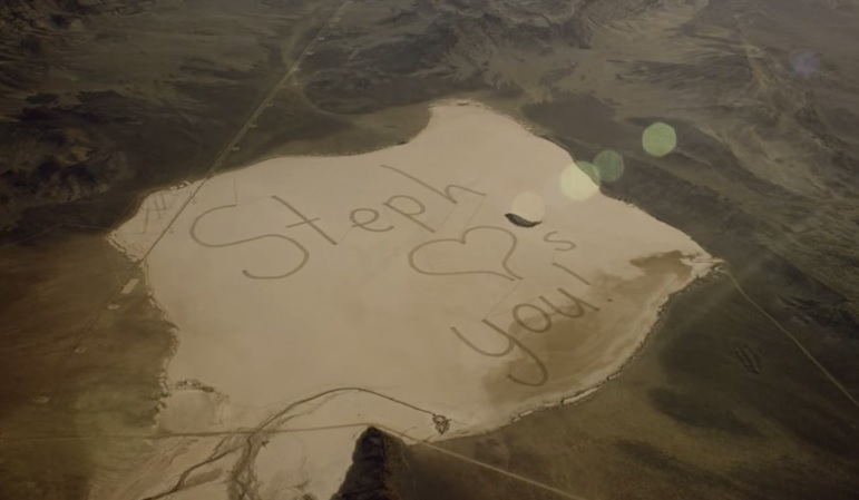 Hyundai help daughter of ISS astronaut create message visible from space