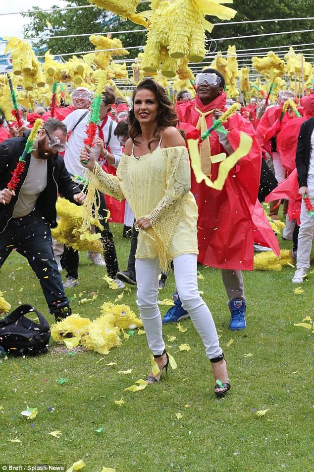 Pringles break the world record in piñata smash-athon
