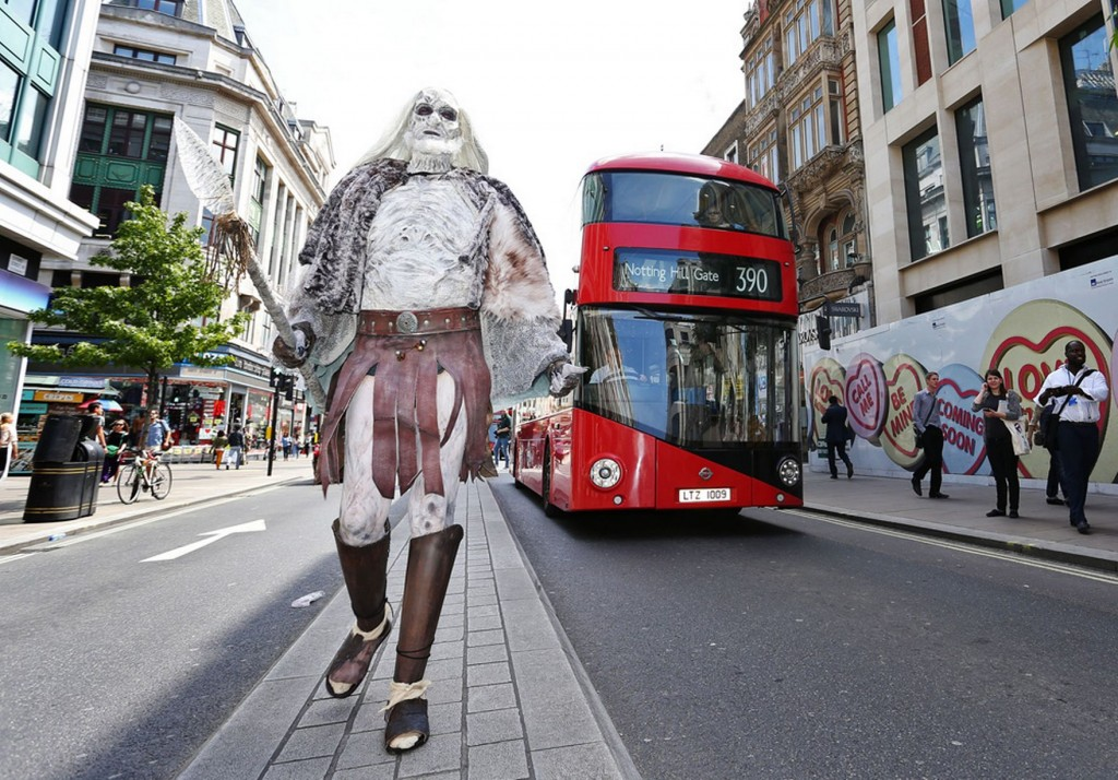 White Walkers launch attack on the streets of London