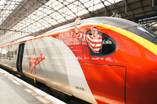 """Virgin Trains is launching the UK's first ever """"Where's Wally? Hunt"""" to encourage families to get out and about this summer"""