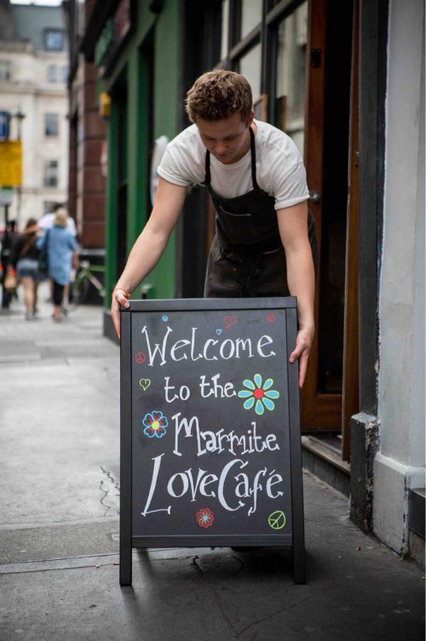 Marmite pay cafe