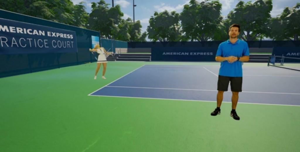 American Express Maria Sharpova VR tennis