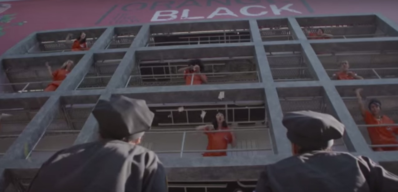 Building transformed into prison cells in Orange Is The New Black PR stunt