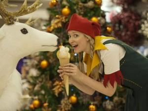 Selfridges does Christmas in August