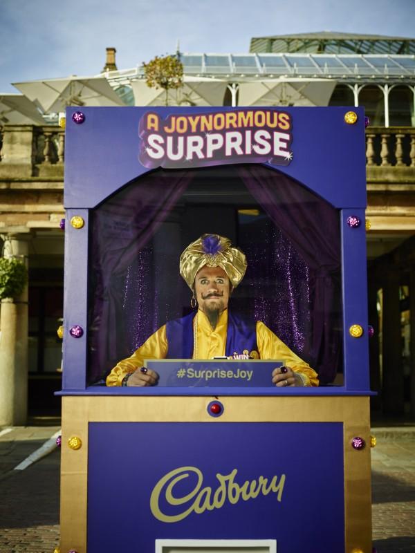Cadbury enlists Freddie Flintoff to award prizes to lucky chocolate fans